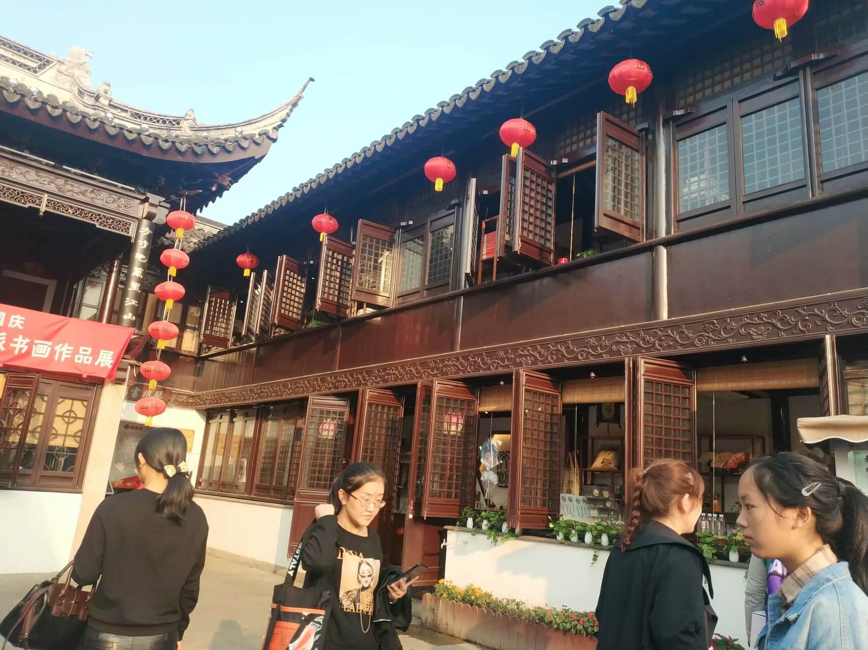 七里山塘-古戏台