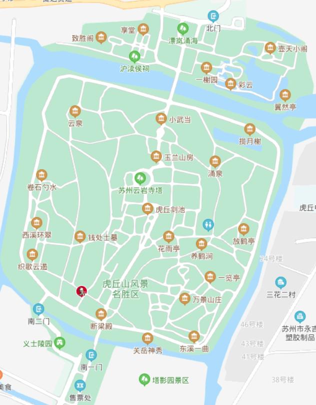 虎丘山-MAP